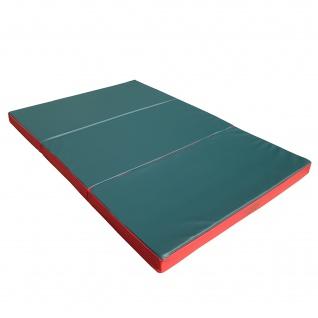 NiroSport Turnmatte 150 x 100 x 8 cm Gymnastikmatte Fitnessmatte Sportmatte Trainingsmatte Weichbodenmatte wasserdicht klappbar - Vorschau 2