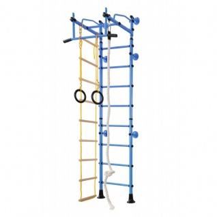 NiroSport FitTop M2 Indoor Klettergerüst für Kinder Sprossenwand für Kinderzimmer Turnwand Kletterwand, TÜV geprüft, kinderleichte Montage, max. Belastung bis ca. 130 kg, Made in Germany - Vorschau 3