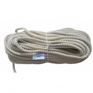 Tauwerk Tau Seil Allzweckseil 100% Baumwolle, 50 m