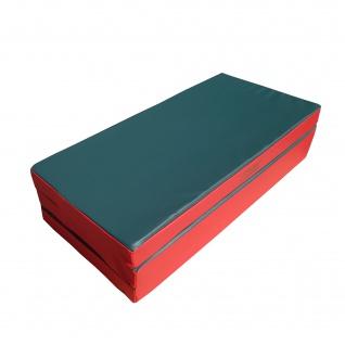 NiroSport Turnmatte 150 x 100 x 8 cm Gymnastikmatte Fitnessmatte Sportmatte Trainingsmatte Weichbodenmatte wasserdicht klappbar - Vorschau 4