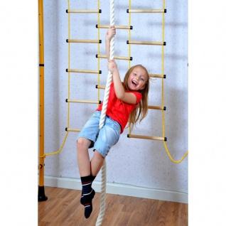NiroSport FitTop M3 Indoor Klettergerüst für Kinder Sprossenwand für Kinderzimmer Turnwand Kletterwand, TÜV geprüft, kinderleichte Montage, max. Belastung bis ca. 130 kg, Made in Germany - Vorschau 5