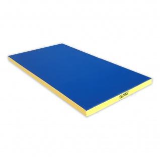 NiroSport Turnmatte 200 x 100 x 8 cm Gymnastikmatte Fitnessmatte Sportmatte Trainingsmatte Weichbodenmatte wasserdicht - Vorschau 5