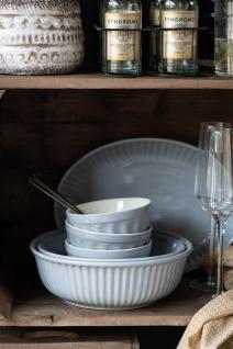 IB Laursen MYNTE Servierschale 21 cm Grau Keramik Geschirr Schüssel FRENCH GREY - Vorschau 3