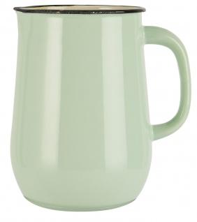 IB Laursen Kanne Emaille Grün Krug 2.5 Liter Hellgrün Karaffe 2500 ml