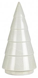 IB Laursen TANNENBAUM Porzellan Weiß 23 cm Weihnachtsdeko