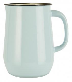 IB Laursen Kanne Emaille Blau Krug 2.5 Liter Hellblau Karaffe 2500 ml