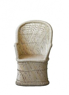 Bloomingville Stuhl TERRAIN Bambus Natur mit Lehne Höhe 105 cm groß