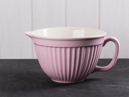 IB Laursen MYNTE Rührschüssel Rosa Keramik Geschirr ENGLISH ROSE 1700 ml Schale