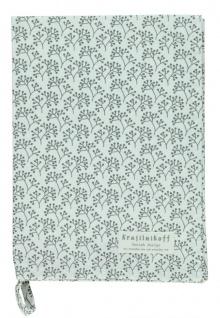 Krasilnikoff Geschirrtuch BERRIES Weiß Baumwolle 50x70 Geschirrhandtuch