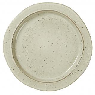 IB Laursen Frühstücksteller DUNES Sand Keramik Geschirr Teller 22cm Kuchenteller