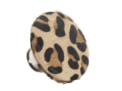 AU Maison Kleiderhaken Leopard Garderobenhaken 9 cm Fell Wandhaken Garderobe