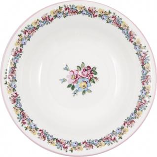 Greengate Schale ELLIE Servierschale Blumen Porzellan Geschirr Suppenschale