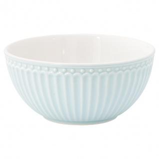 Greengate Schale ALICE Hellblau 450 ml Müslischale Everyday Geschirr Pale Blue