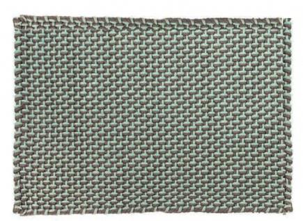 Pad Outdoor Teppich POOL Opal Türkis / Stone Grau 140x200 Badezimmer Badematte