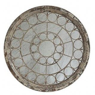 Bloomingville Spiegel CHATEAU Wandspiegel rund XXL Format 117 cm Durchmesser