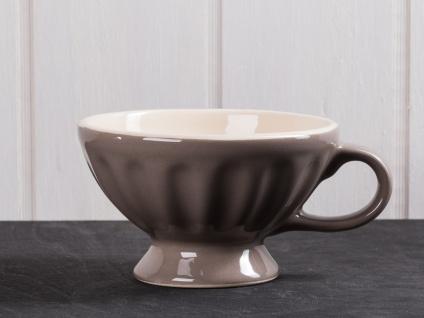 IB Laursen MYNTE Jumbobecher Braun Keramik Geschirr MILKY BROWN XL Tasse 300 ml