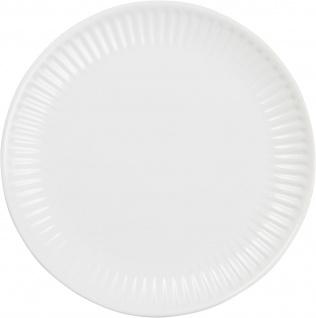 IB Laursen MYNTE Frühstücksteller Weiß Keramik Teller 19 cm PURE WHITE Geschirr