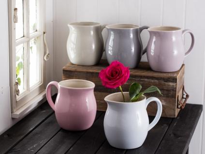 IB Laursen MYNTE Kanne 2.5 Liter Rosa Keramik Geschirr ENGLISH ROSE Krug Karaffe - Vorschau 2