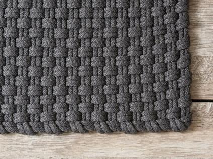 Pad Outdoor Matte UNI STONE GRAU 72x92 Fussmatte Teppich Pad Concept Fußmatte - Vorschau 2