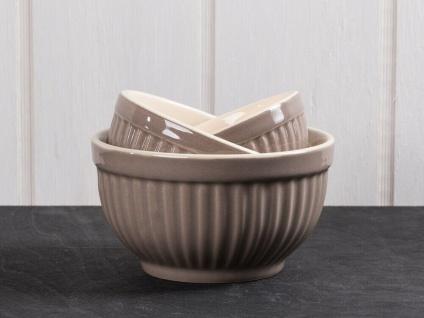 IB Laursen MYNTE Schalensatz Mini Braun 3er Set Keramik Schüsseln MILKY BROWN