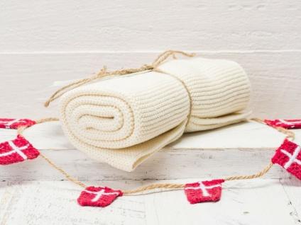 Solwang Küchentuch NATUR gestrickt Putztuch Handtuch Geschirrtuch Gästehandtuch