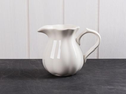 IB Laursen MYNTE Kanne 0.45 L Creme Weiß Keramik Geschirr BUTTER CREAM Krug