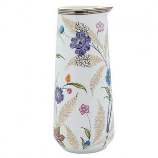 Greengate Krug TIPHANIE weiß Goldrand Gate Noir Blumen Kanne Porzellan 0.7 Liter