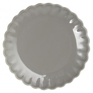 IB Laursen MYNTE Kuchenteller Grau Keramik Teller 21 cm GRANITE Geschirr