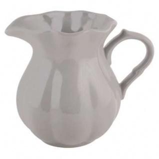 IB Laursen Kanne Mynte 1 Liter grau Keramik Karaffe French Grey Krug Geschirr