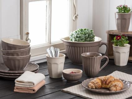 IB Laursen MYNTE Becher Rillen Braun MILKY BROWN Keramik Geschirr Tasse 250 ml - Vorschau 2