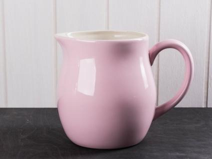 IB Laursen MYNTE Kanne 2.5 Liter Rosa Keramik Geschirr ENGLISH ROSE Krug Karaffe