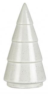 IB Laursen TANNENBAUM Porzellan Weiß 14.5 cm Weihnachtsdeko
