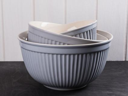 IB Laursen MYNTE Schalensatz Grau 3er Set Keramik Schüsseln FRENCH GREY Geschirr - Vorschau 1