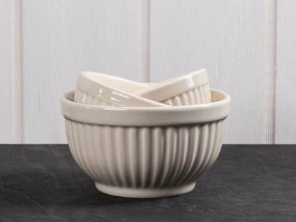 IB Laursen MYNTE Schalensatz Mini Beige 3er Set Keramik Schüsseln LATTE Geschirr