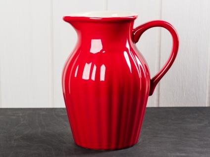 Ib Laursen Mynte Kanne 1.7 Liter Rot Keramik Geschirr Strawberry Krug Karaffe - Vorschau 1