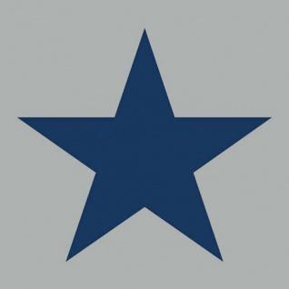 Ambiente Servietten STAR GREY DARK BLUE 20 Stück grau Stern blau 3-lagig 33x33