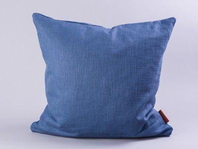 Cozy Living Kissen 50x50 Dunkelblau Baumwolle blau mit Füllung
