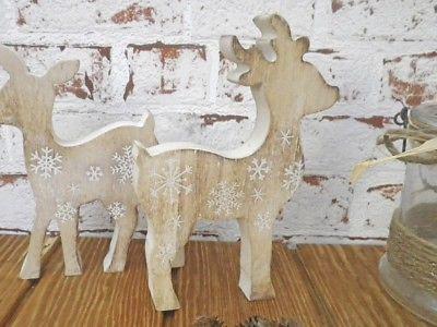 Deko Aufsteller Hirsch Lenny 16 cm Holz Weihnachtsdeko Weihnachten
