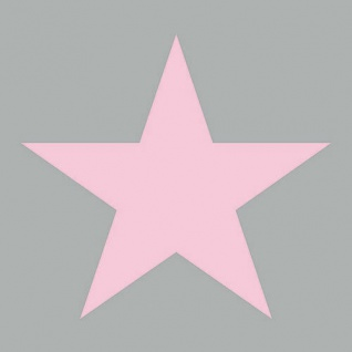 Ambiente Servietten STAR GREY PINK 20 Stk Hellgrau STERN Rosa 33x33 Grau 3-lagig