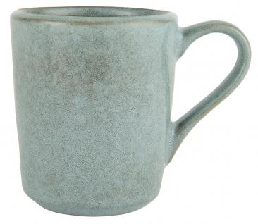 IB Laursen Becher DUNES Blau LIGHT BLUE mit Henkel Keramik Geschirr Tasse 300 ml