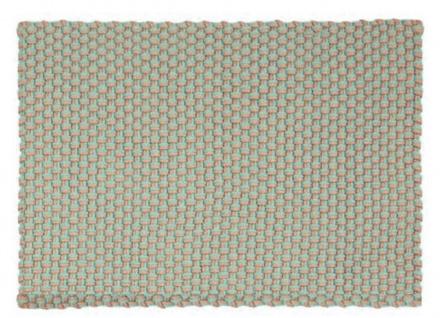 Pad Outdoor Teppich POOL Opal Türkis / Sand 140x200 Badezimmer Design Badematte
