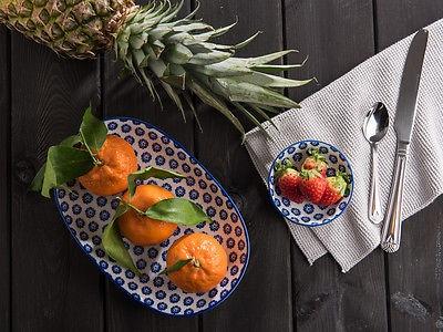 IB Laursen Schale LIVA Mini blau weiß Blumen Geschirr Schüssel Porzellan - Vorschau 4
