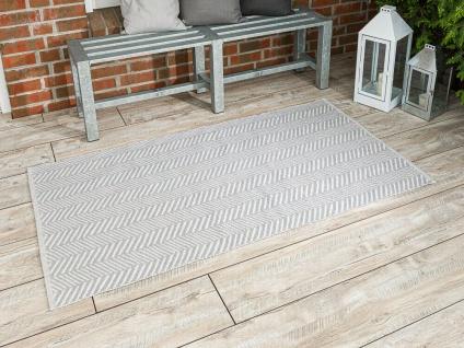 PAD Outdoor Teppich HARRY Hellgrau 92x172 Fussmatte Matte Concept Badematte Grau