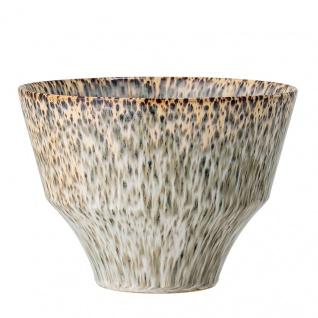 Bloomingville Blumentopf Konisch 21.5 cm Keramik Übertopf Pflanztopf 15 cm hoch