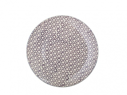 Bloomingville Essteller MAYA Keramik Teller 28 cm Geschirr rot Speiseteller