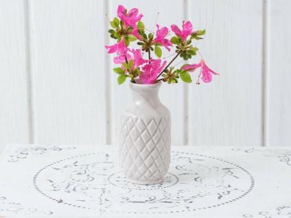 Vase BEA Grau Blumenvase Keramik 10 cm Vase klein - Vorschau 3