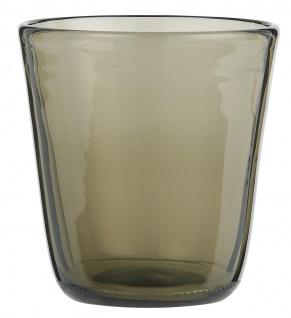 IB Laursen Trinkglas Rauch Saftglas 180 ml 8x9 cm Wasserglas Rauch Glas