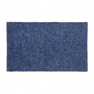 Pad Teppich Läufer TAIL Blau 70x130 cm In / Outdoor Badezimmer Matte Wetterfest