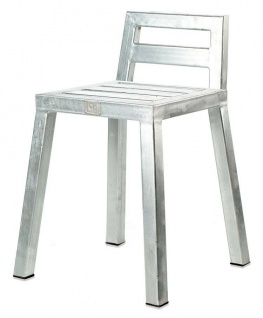 A2 Living Allwetter Gartenstuhl verzinkt Stuhl Gartenmöbel wetterfest Metall