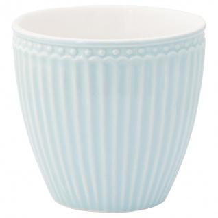 Greengate Latte Cup Becher ALICE Hellblau Everyday Geschirr PALE BLUE 300 ml